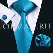 Подарочный набор (галстук, платок, запонки)