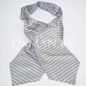 Галстук Аскот (шейный платок) шелковый 4831