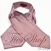 Галстук Аскот (шейный платок) шелковый 5913