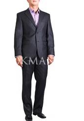 Серый костюм мужской KAIZER 722