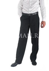 Зимние классические брюки на флисе 890
