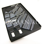 """Подтяжки галстук платок для взрослых """"DINERS"""" 9350"""
