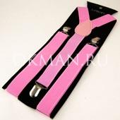 Подтяжки для взрослых 9354 Розовые