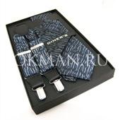 """Подтяжки галстук платок для взрослых """"DINERS"""" 9550"""