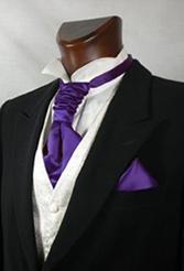 Пластроны, галстуки-аскот