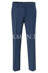 Детские синие школьные брюки Stenser Б90