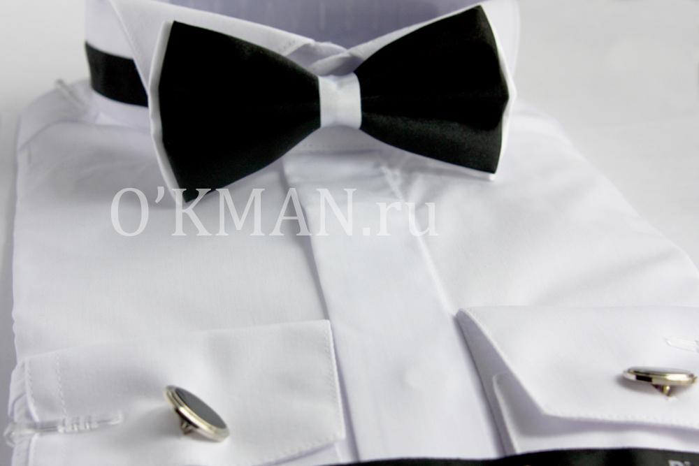 c7df3c12aa04241 Белая рубашка под бабочку или смокинг Piero Lusso - Рубашки под ...