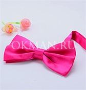 Бабочка-галстук цвета фуксии