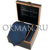"""Подарочный набор Галстук с платком """"Benini"""" Микрофибра 0965"""