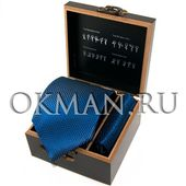 """Подарочный набор Галстук с платком """"Benini"""" Микрофибра 3965"""