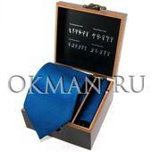 """Подарочный набор Галстук с платком """"Benini"""" Микрофибра 4965"""