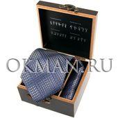 """Подарочный набор Галстук с платком """"Benini"""" Микрофибра 5075"""