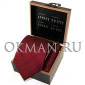 """Подарочный набор Галстук с платком """"Benini"""" Микрофибра 1175"""