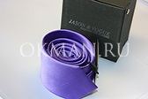 Галстук в коробочке фиолетовый