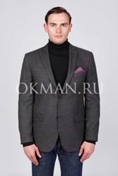 Стильный клетчатый мужской пиджак Иберис Barkland