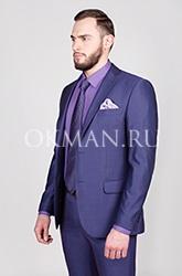 Приталенный стильный подростковый костюм Логарт Barkland