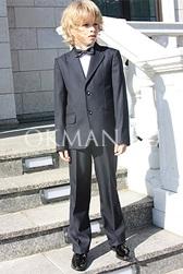 Детский серый костюм-двойка Stenser 19