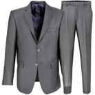 Серый прямой костюм STENSER К46Р-3