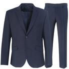 Синий мужской костюм с увеличенной полнотой STENSER К5140-3