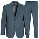 Серый полуприталенный костюм STENSER К5153