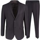 Коричневый приталенный костюм STENSER К5162