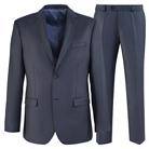 Темно-серый приталенный костюм STENSER К5731