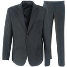 Черный прямой костюм STENSER К724Р-3