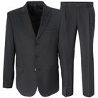 Серый прямой костюм STENSER К804Р-3
