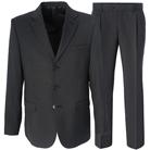 Серый приталенный костюм STENSER К804Р