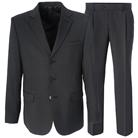 Серый приталенный костюм STENSER К84РА