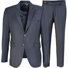 Серый костюм с увеличенной полнотой STENSER К86Р-3