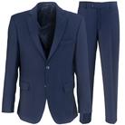 Синий прямой костюм STENSER К90Р-3