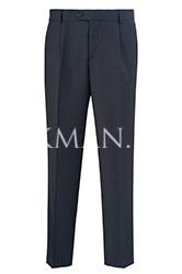 ac25cd837aaf Приталенный мужской костюм темно-синего цвета в клетку Barkland ...