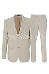 Летний мужской костюм бежевого цвета Kaizer 719