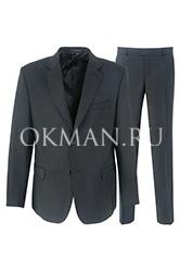 Черный мужской костюм  KAIZER 724B