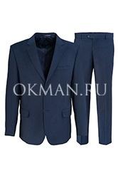 Костюм мужской  классический Kaizer 735 синего цвета