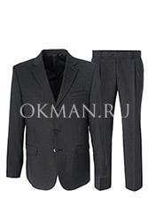 Серый подростковый костюм Kaizer K804P