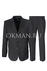 Серый мужской костюм KAIZER 804