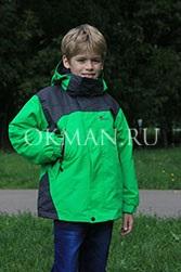 Cалатовая демисезонная куртка для мальчика