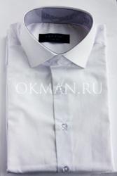 Подростковая рубашка белого цвета Carat