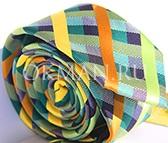 Мужской разноцветный галстук