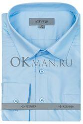 Подростковая рубашка синего цвета STENSER С14Р