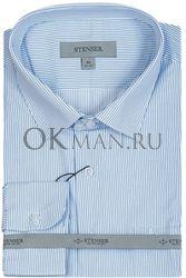 Подростковая рубашка синего цвета STENSER С20Р