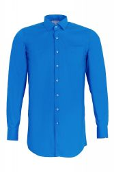 Подростковая сорочка Stenser С78Р-58 (ярко-синяя)