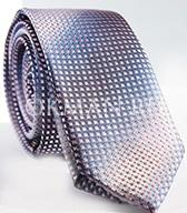 """Мужской фактурный галстук с серо-розовым """"переливом"""""""