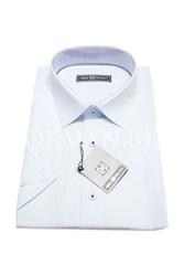 Фактурная приталенная мужская рубашка Nino Pacoli