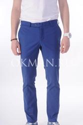 Зауженные хлопковые брюки-чинос Stenser 4107