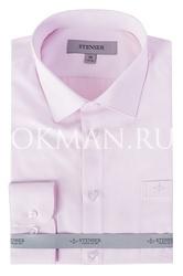 Нежно-розовая детская рубашка Stenser C07
