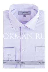 Сиреневая детская рубашка Stenser C08