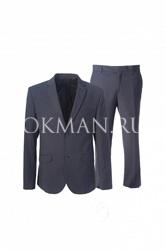 Молодежный приталенный костюм Stenser 5144